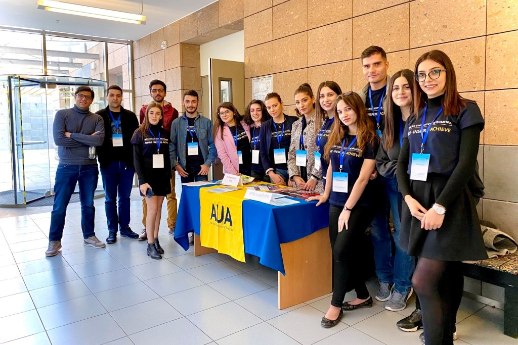 Students volunteer at AUA naugural Political Science &International Affairs Conference